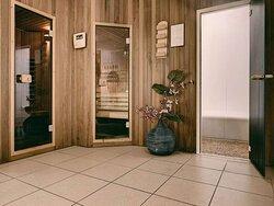 Sauna en stoomsauna