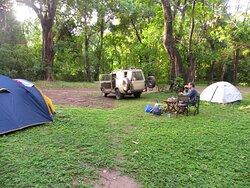 Lake Manyara campsite