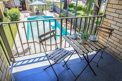 Balcony & Swimming Pool