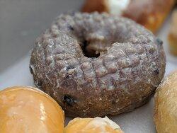 I love you, blueberry donut.