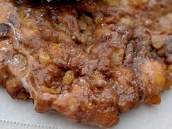 The apple fritter connoisseur in our family said this is excellent.