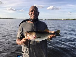 We had another amazing day Bass fishing the Butler Chain of Lakes on the top rated Orlando fishing charters near Disney World and Kissimmee. Book your Bass fishing charters, saltwater fishing charters, or fly fishing charters today!