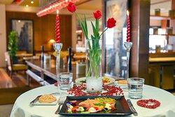 Enjoy exceptional Italian à la carte classics at Pane Vino restaurant & terrace on Valentine's Day.