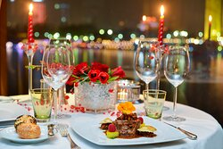 The Grill boasts a symphony of classic piano tunes and a refined dinner on Valentine's Day.