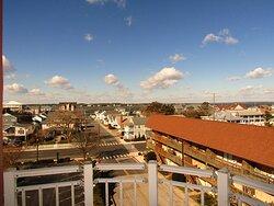 Americana Princess condos Balcony bay and City view Ocean City Condos