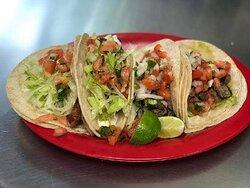 Delicious Carne Asada ( Steak ) Tacos