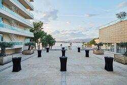 Grand Dalmatia terrace