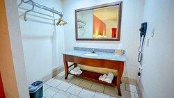 Motel Atoka bathroom