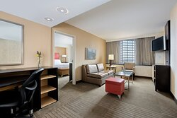 Large delux - One bedroom suites with living area and pullout sofa