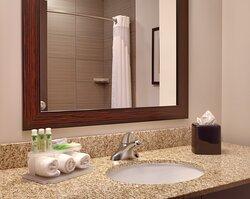 Guest Bathroom-Holiday Inn Express & Suites, Overland Park, KS