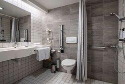 Accessibility Standard twin bathroom