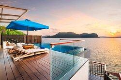 Sunset Villa Pool Deck
