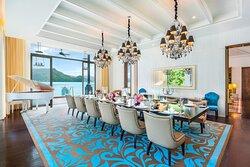 Sunset Royal Villa Dining Room