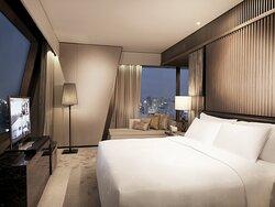 Presidential Suite Bedroom Night