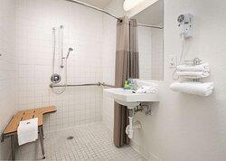 Motel Temecula Rancho CA Bathroom ADA RI Shower