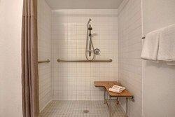 Motel Gilroy CA Bathroom ADA RI Shower
