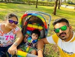 i was with my wife and little princess Vihana.