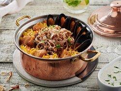 Try our exotic Sea Food Biryani.