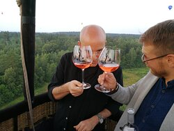 Wine tasting in the sky with Private Baltics