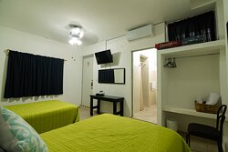habitación de 2 camas matrimoniales