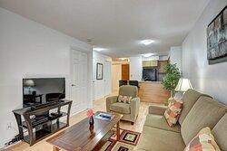 One Bedroom Furnished Suite - Livingroom