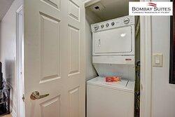 Bombay Suites - En-Suite Washer & Dryer in all Suites