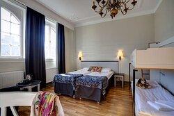 scandic frimurarehotellet room familystandard