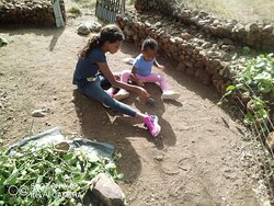 A perfect place for children to come close with nature.....