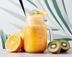 Vitamine  Citron vert, orange, pamplemousse, kiwi