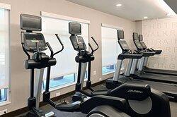 Fitness Center- open 24 hours