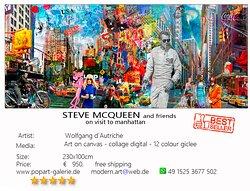 Steve McQueen and friends