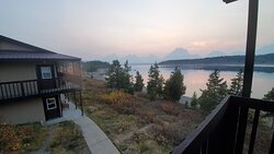View from an upper Lakefront Retreat