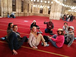 Amazing Tour at the Citadel inside the Alabaster mosque.