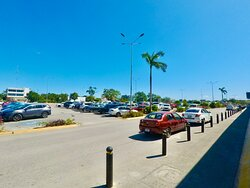 Parking at Centro Maya shopping center