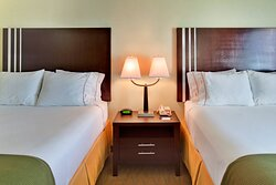 PLENTY OF ROOM FOR EVERYONE IN OUR ROOMS WITH TWO QUEEN BEDS