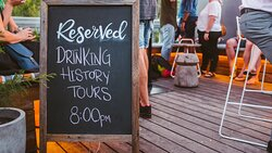 Join us for a Drinking History Tours adventure!