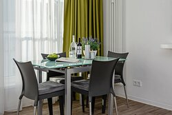 Dining table in Studio & Apartment (2 rooms)