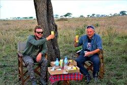 Picnic Lunch at serengeti