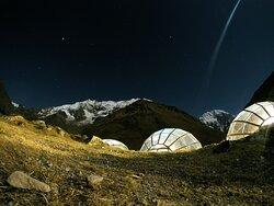 Sky Camp, acampamentos privados na Trilha de Salkantay a Machu Picchu.