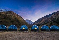 Sky Camp - Trilha de Salkantay a Machu Picchu.