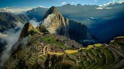 A cidade Inca de Machu Picchu.