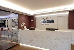 Recpción Hotel Colón Plaza Valladolid