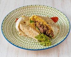 Burrito de Pollo al Chipotle