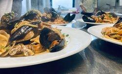 SCOGLIO 1952🦐 Ii nostri spaghetti allo scoglio con le prelibatezze del nostro mare, pescate e portate in tavola