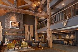 Teton Mountain Lodge & Spa lobby.