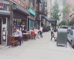 outdoor dining during Covid