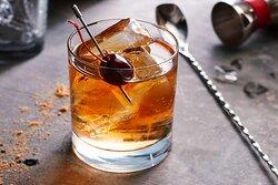 Bistro black cherry old fashioned