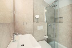 Double Room with Private Terrace (Bathroom w/ dual head shower)