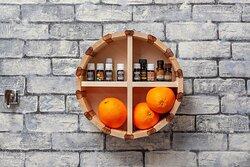 Массаж горячими апельсинами
