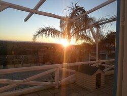 Sunset dalle camere superior